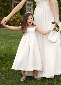 flower girls | Flower Girl Dresses - David's Bridal Flower Girl Spaghetti Strap ...