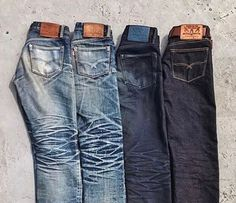 "Reposting @robindenim: ... "" @oldblueco"" Denim jeans selvedge fadded indigo pant"