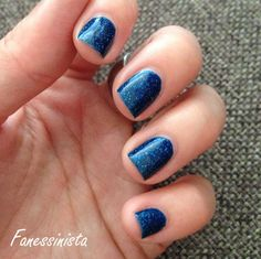 Fanessinista: (Blue Friday) Picture Polish - Cosmos