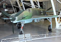 Luftwaffe Dornier DO 335 A-1 Pfeil (Arrow) fighter.  The Luftwaffe was desperate to get the design into operational use, but delays in engine deliveries meant only a handful were delivered before the war ended.