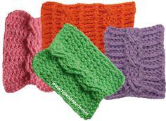 Cómo tejer trenzas ochos a crochet. Videotutorial en español. ❥Teresa Restegui http://www.pinterest.com/teretegui/❥