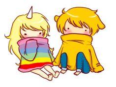 Rainacorn and Jake