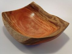 Freeform Bowl made from rescued Bloodwood...hand formed, By Australian Rescued Timbers www.australianrescuedtimbers.com