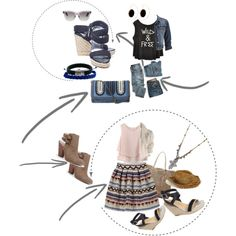 Untitled #201 by audrey-prater on Polyvore featuring Chicwish, YSL RIVE GAUCHE, maurices, Stuart Weitzman, Chinese Laundry, Sole Society, STELLA McCARTNEY, Banana Republic, John Hardy and Domo Beads