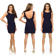 Dying over the new scalloped, Sweet Tea: Olivia Dress (Pre-Order) - Revelry Dresses