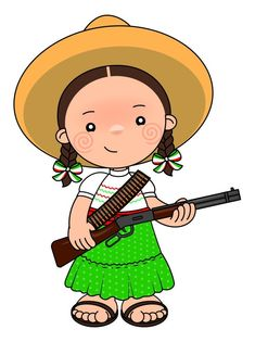 Little Girl Cartoon, Mexican Babies, Babies First Year, Mexican Art, Patch, Cute Art, Chibi, Art Projects, Fictional Characters