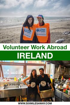If you want to travel cheaper, you should consider volunteer work in Ireland. Not only will you support the community, but also get an authentic and local experience. There are multiple volunteer work websites that connect you with your host. Teen Volunteer, Volunteer Work, Volunteer Abroad, Beach Clean Up, Volunteer Services, Work Opportunities, Charity Organizations, Work Abroad, Website Template