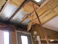How to repair your water damaged trailer, framework of 2x2, size of screws Track Lighting, Motorhome, Automobile, Transportation, Rv, Ceiling Lights, Web Images, Home Decor, Website