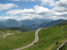 Giovo (Jaufenpass) - view from the top