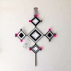 Smoke Cross Wall Hanging