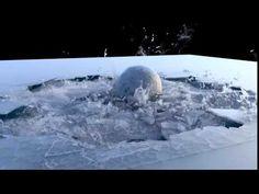 Ice lake cracked in Houdini - YouTube