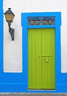 Another fun door in the Dominican Republic. So many bright colors in this beautiful country!
