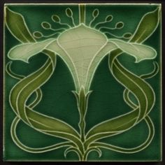 antique art nouveau tiles - Google Search