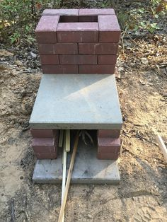 Brick rocket stove More