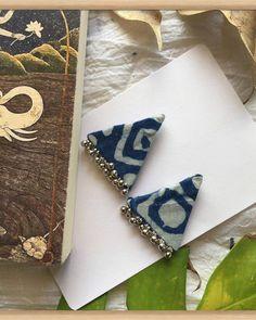 DM for orders. Diy Fabric Jewellery, Thread Jewellery, Tassel Jewelry, Textile Jewelry, Silk Thread Earrings, Fabric Earrings, Fabric Beads, Diy Earrings, Handmade Jewelry Designs