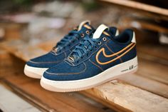 "Zapatilla Nike Air Force ""Premium Denim"" - Follow Taj's Step Board"