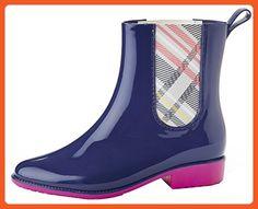 Henry Ferrera Womens Clarity-800 Short Rain Boots Navy, 6 - Outdoor shoes for women (*Amazon Partner-Link)
