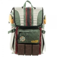 Star Wars: Boba Fett Laptop Backpack - First Person Clothing - 2