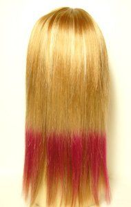 "16""~18"" Light Brown and Hot Pink 100% Remy Human Hair Clip in Extension by Lord and Cliff. $39.99. Length 16""~18"". Advanced Silicon Clips. Aerosilver Lace. 100% collected Remy Light Brown Hair. Width 10 inch. 100% Human Remy Weaving Hair. Easy to style , curl, and maintain. A simple clip gives you an instant change from short hair to long hair."