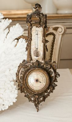 Antique French Barometer
