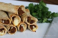 Baked Beef Taquitos...need leftover shredded roast beef to make.