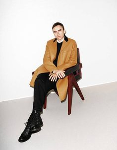 Designer Raf Simons on Suiting and Sneakers