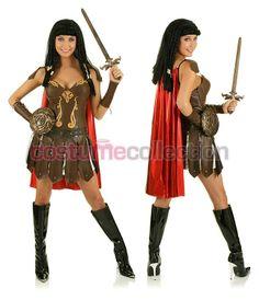 burlesque gladiator | Xena Warrior Princess Costume