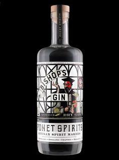 Ponet Bishop's Gin on Behance