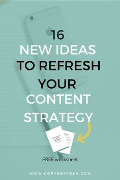 Learn how to refresh your blog content strategy with these simple tips. Take your blog content from stale and boring and create client-attracting content...