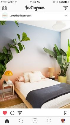 Everywhere you look you find things are being updated. The best way to start modernizing in your life is to have a modern bedroom. Modern bedroom decor can be relatively simple to do. A few new modern…More Home Decor Bedroom, Modern Bedroom, Bedroom Ideas, Diy Bedroom, Bedroom Designs, Bedroom Plants, Master Bedroom, Bed Designs, Bedroom Wall Colour Ideas