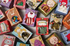 The Christmas Collection of Paradoxical Types on Behance