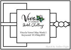 Viva la Verve! May Week 1 {4/27/12}: Verve Stamps - Splitcoaststampers