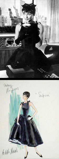 Audrey Hepburn in 'Sabrina' (1954). Costume Designer: Edith Head
