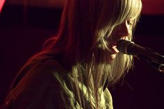 Natalia Yanchak  thedears.org/  Taken at #TheDears residency in #Mexico City at the Pasaguero.  #concert #brendancoreyb