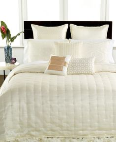 Hotel Collection Verve King Duvet Cover