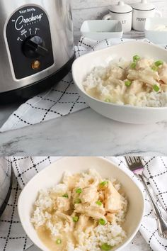 Make this creamy and flavorful recipe for crockpot chicken and gravy tonight! We love how easy this slow cooker chicken dinner is to make while also making the whole family full and happy. #crockpot #slowcooker #chickenrecipes