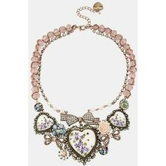 Porcelain Heart Bib Necklace, Nordstrom