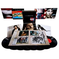 Bruce Springsteen - The Album Collection Vol. 1 1973-1984 on Limited Edition 180g 8LP Vinyl Box Set