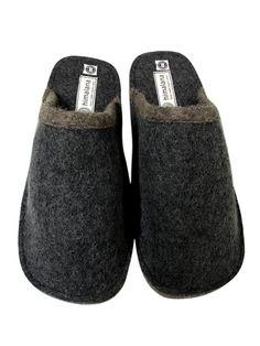 Pierre Roche Mens Indoor Sherpa Lined Slippers Nightwear Lounge Foam Sole Gift
