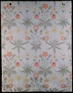 Daisy' wallpaper by William Morris, 1864
