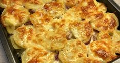 Meat Recipes, Healthy Recipes, Bread Dough Recipe, Potato Dishes, Special Recipes, Cauliflower, Macaroni And Cheese, Food To Make, Side Dishes