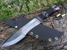 Tacker custom survival knife by WillowCellar.