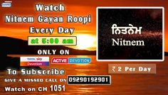 30th April Schedule of Tata Sky Active Devotion Gurbani Channel..  Watch Channel no 1051 on Tata Sky to listen to Gurbani 24X7.. Give A Missed Call On 09290192901 Facebook - https://www.facebook.com/nirmolakgurbaniofficial/ Twitter - https://twitter.com/GurbaniNirmolak Downlaod The Mobile Application For 24 x 7 free gurbani kirtan - Playstore - https://play.google.com/store/apps/details?id=com.init.nirmolak&hl=en App Store - https://itunes.apple.com/us/app/nirmolak-gurbani/id1084234941?mt=8