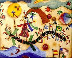 Atrapados por la imagen: XUL SOLAR EN EL MUSEO NACIONAL DE BELLAS ARTES PAR...