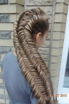 Not that I really like this hairstyle, but this has to be the thickest hair that I have ever seen!