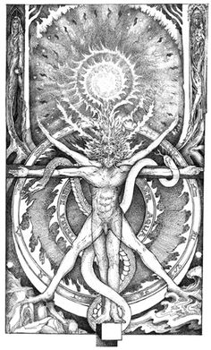 Artist: Leigh J. McCloskey   The Sun is the 19th key in the Tarot Arcana and is represented astrologically by the Sun. The Sun symbolizes authority, growth, illumination, and immortality. It signifies the core of being and one's true path in the Great Work. The mode of consciousness attributed to the Sun is Collecting Intelligence, signifying transcendent intellect that collects or culls knowledge from the whole self.