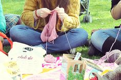 knitting in Madrid