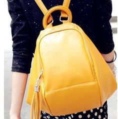 2013 School Style Women Backpack Shoulder handbag Variety Large Multi Pocket  Multifunctional PU Bag Free Shipping Candy Color-inBackpacks from Luggage & Bags on Aliexpress.com