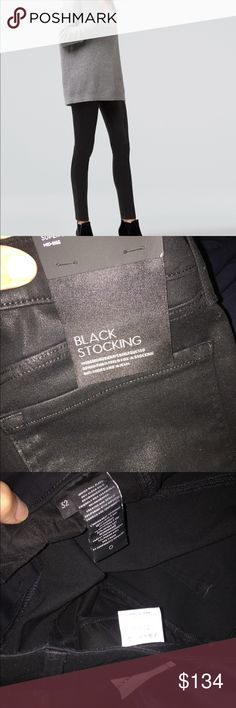 NWT J Brand Black Stocking super skinny jeans 32 Perfect NWT J Brand jeans, style is Black Stocking, a mid-rise jean, color is Fearless, a black. Waist 32. Inseam 32. J Brand Pants