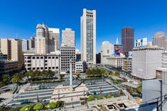 Greetings Card-United States, California, San Francisco, Downtown, Union Square-Photo Greetings Card made in the USA San Francisco Travel, San Francisco Bay, San Francisco Skyline, Yosemite National Park, National Parks, Union Square, California Travel, Travel Images, Pacific Ocean